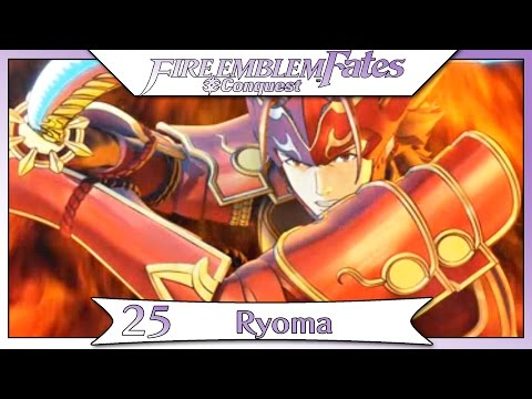 Fire Emblem Fates Conquest - Part 36 | Chapter 25 - Ryoma! [Non-DLC English Walkthrough]