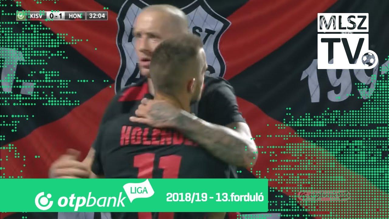 Holender Filip első gólja a Kisvárda Master Good - Budapest Honvéd mérkőzésen