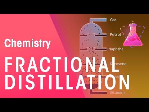 Fractional Distillation   Organic Chemistry   Chemistry   FuseSchool