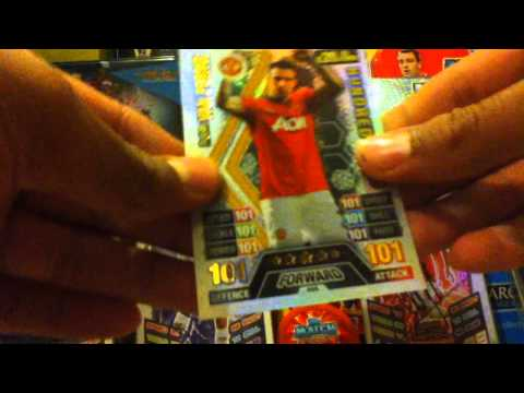 Match Attax 2013/14 3 pack opening AMAZING HIT!