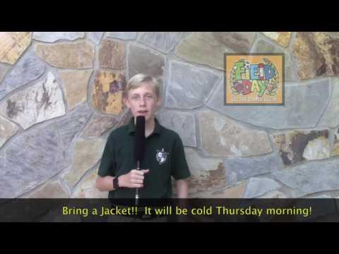 TFTV – Tallulah Falls School Middle School –October 12, 2016