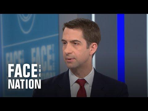 Cotton defends Trump