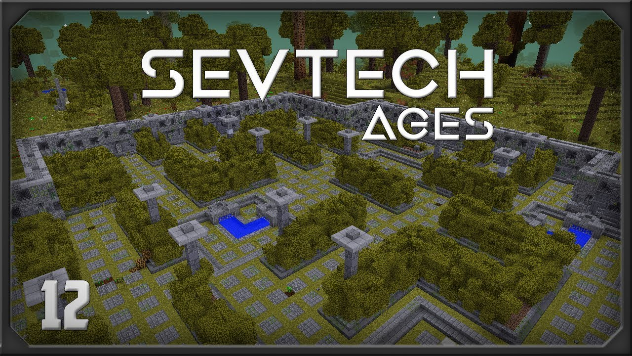 Sevtech EP12 Astral Sorcery Starlight Crafting Table + Twlight Forest Portal