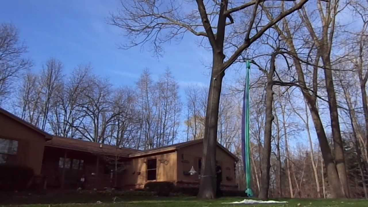 showing off my new outdoor rigging for aerial silks   youtube  rh   youtube