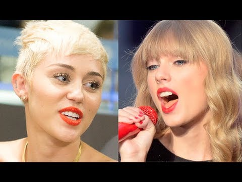 Miley Cyrus Vs. Taylor Swift: More Dramatic Love Life!?