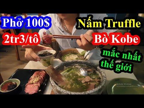 Choáng váng tô phở 100 đô mắc nhất việt nam với thịt bò Kobe Wagyu và nấm Truffle mắc nhất thế giới   Trang thông tin nhà hàng ở Việt Nam – Tin tức khách sạn, nhà hàng, căn hộ 1 Việt Nam