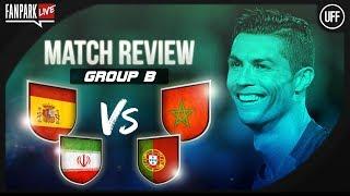 Portugal vs Iran & Spain vs Morocco - Full Time Phone In - FanPark Live