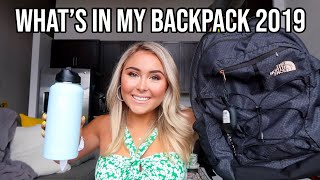 WHAT'S IN MY BACKPACK 2019 *College Edition*
