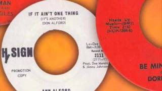ann alford if it ain t one thing it s another