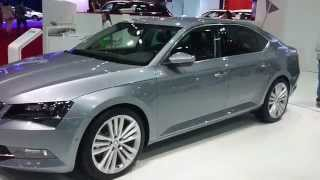 New Skoda Superb - Barcelona Auto Show 2015