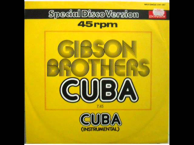 Flac download gibson brothers cuba 1996 version (1995) lossless.