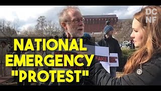 Highlights Of The National Emergency Protest