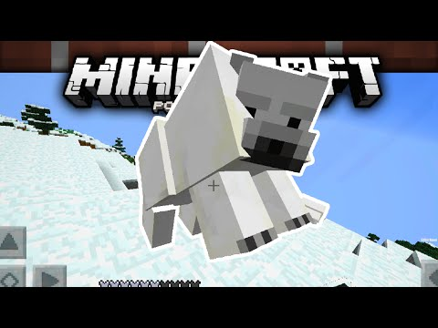 OSOS POLARES! (POLAR BEAR) | Minecraft Pocket Edition | MCPE 0.15.0/0.16.0 Video Concepto (Gameplay)