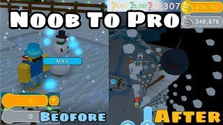 Noob To Pro! Biggest Snowman! 30 Rebirth! Legendary Pet! - Snowman Simulator