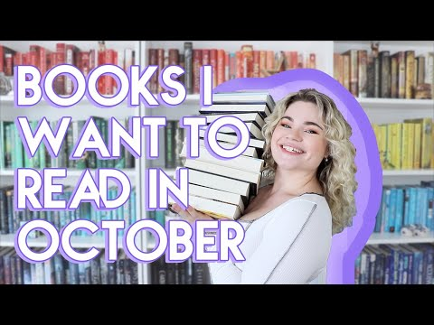 Books I Want to Read in October!