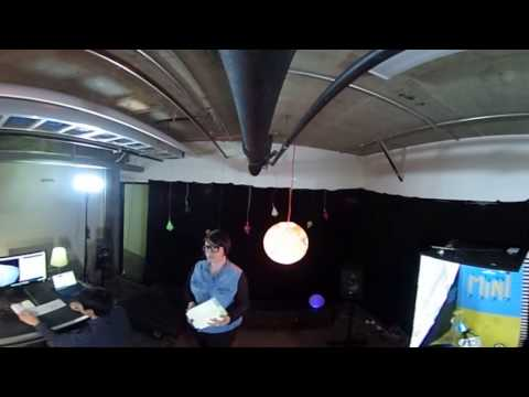 Scènes ouvertes - live telepresence Quebec/Montreal 13 february 2017