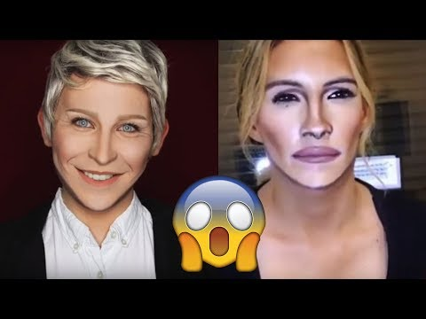 Best Makeup Transformations 2018 Michael Jackson, Kim Kardashian, Beyonce, Drake Celebrities