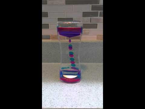 Adorox Liquid Bubble Drop Motion Wheel Zig Zag Desk Toy