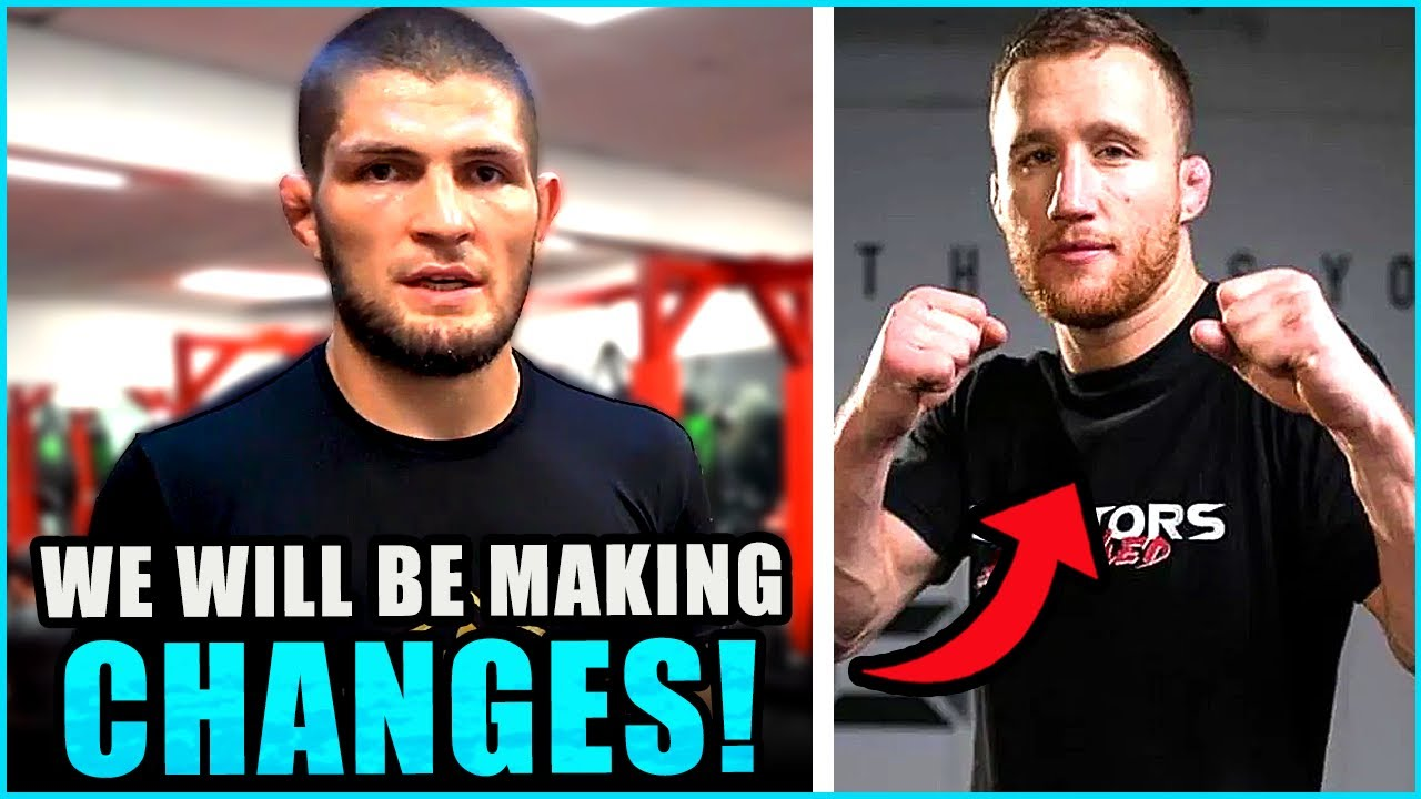 Khabib will prepare differently for Justin Gaethje, Edmen Shahbazyan releases statement, Dana White