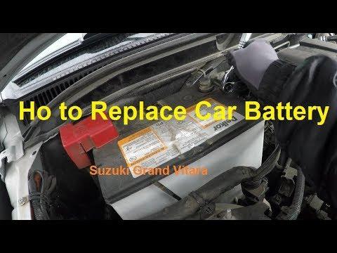 How to Replace Car Battery in Suzuki Grand Vitara
