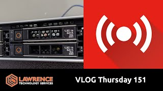 VLOG Thursday 151: New Servers, Active Directory and My Huntress Labs Trip