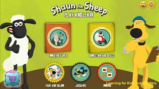 Shaun the Sheep Brain Games [Ages 6-12] - Android
