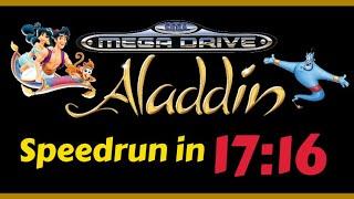 Aladdin Speedrun (SEGA MegaDrive)