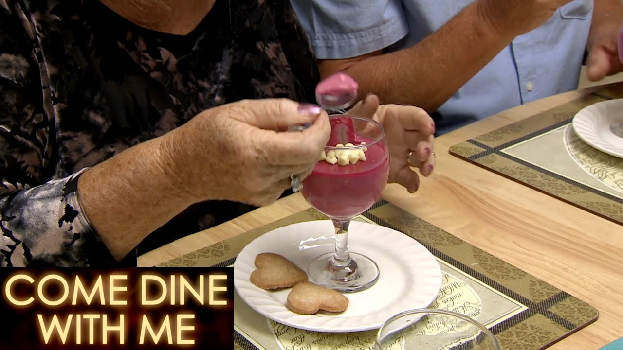 Champagne Posset Impresses All! | Come Dine With Me