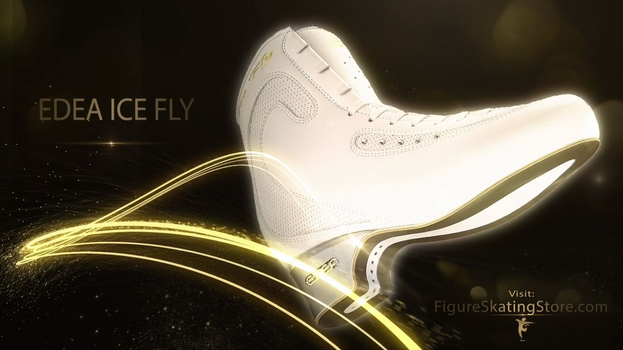 Edea Ice Skates Promo FigureSkatingStore - YouTube