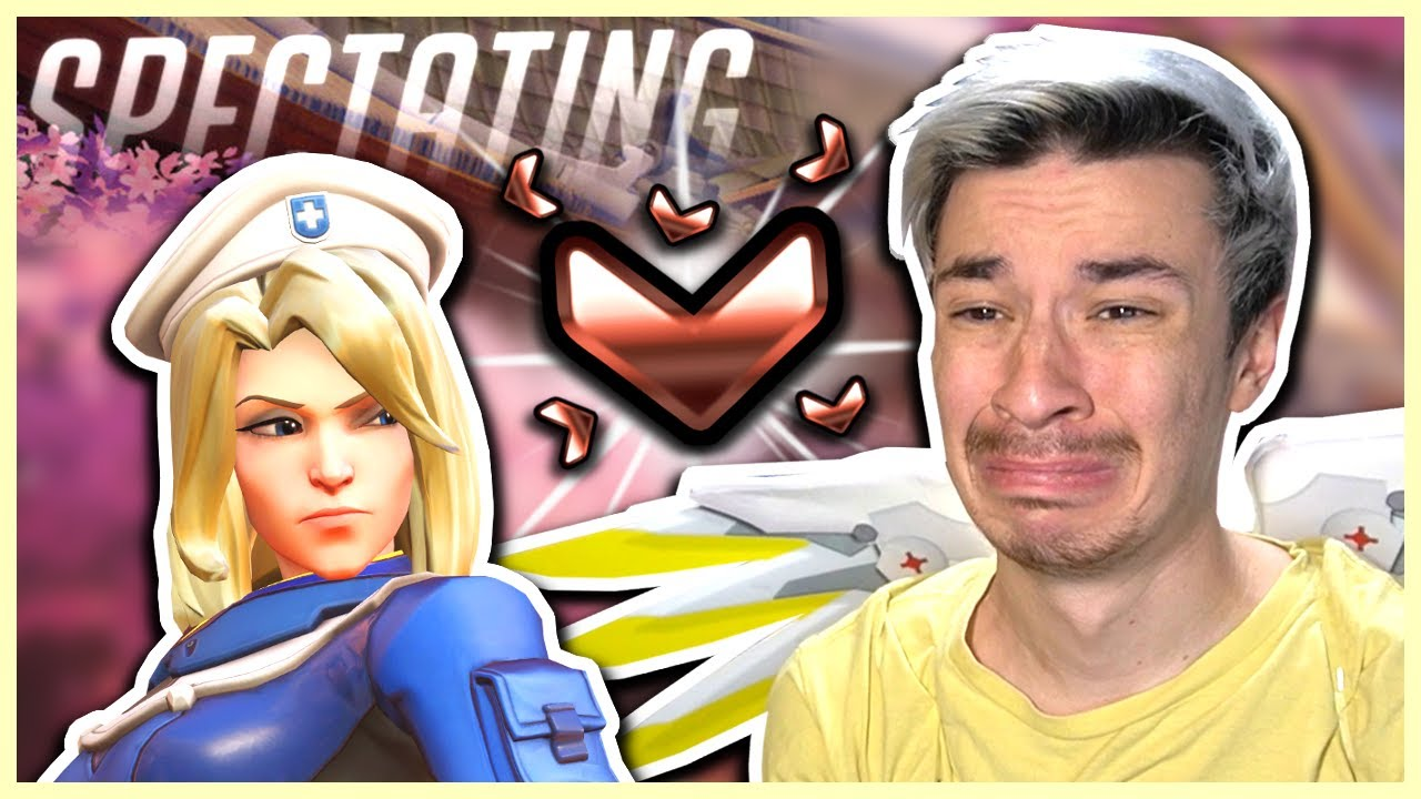 Download Overwatch - I SPECTATED A BRONZE MERCY WITH THE WORST TEAM