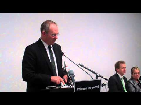 Labour MP Phil Twyford speaks about Trans-Pacific Partnership Agreement