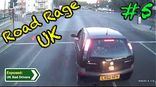 UK Bad Drivers, Road Rage, Crash Compilation #5 [2015](UK Dashcam Compilation #5 to Expose UK Bad Drivers/Driving. Features Crashes, Road Rage and Crash for Cash from 2015. Contains Strong Language., 2015-08-30T11:53:30.000Z)