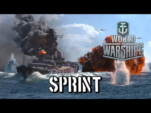 World Of Warships - Sprint