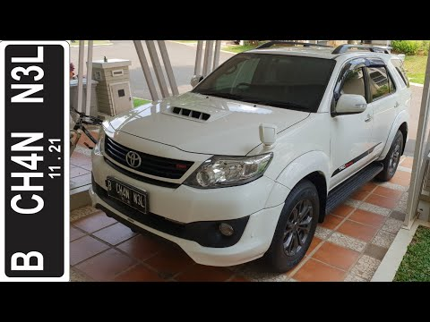 In Depth Tour Toyota Fortuner TRD Sportivo VNT A/T [AN50] Last Facelift (2014) - Indonesia