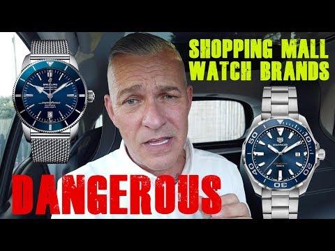 Two Dangerous Shopping Mall / High Street Watch Brands