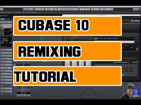 CUBASE PRO 10 TOP TIPS - Remixing | Chopping | Bpm Changing ect Part 2