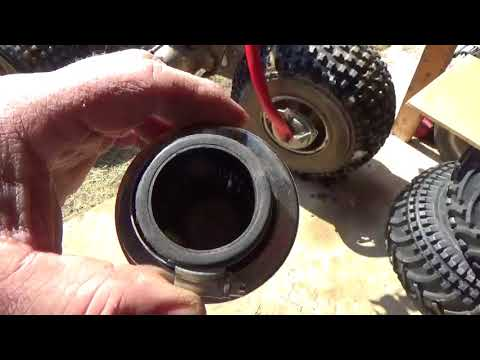 Simplifying Honda ATV air cleaners, $9 replacements, some considerations,