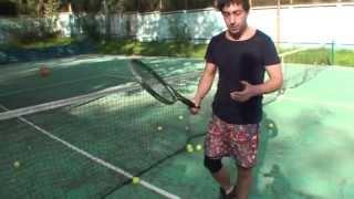Теннис. Удары с лета. Часть 1.