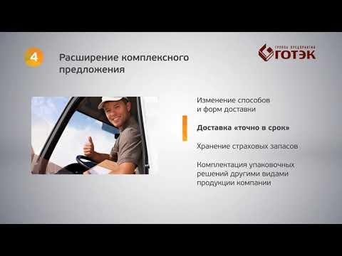 Презентационное видео ГОТЭК.  Презентационный видеоролик о компании.