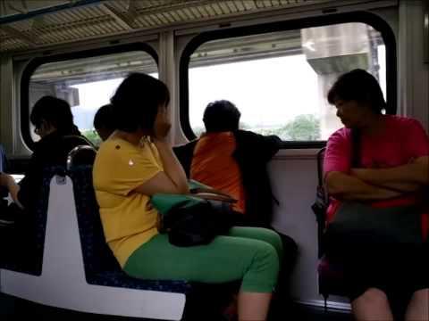 Taiwan Railway EMU700 Commuter train