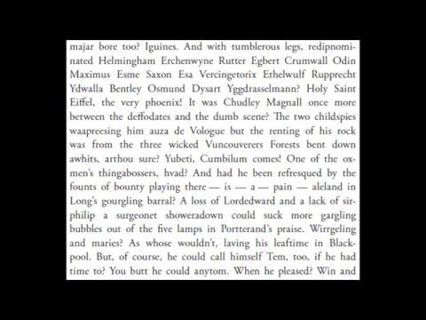 James Joyce || Finnegans Wake Book I Chapter 4 [audiobook]
