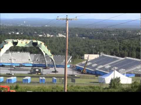 U2 Concert Site Magnetic Hill 2011 Youtube