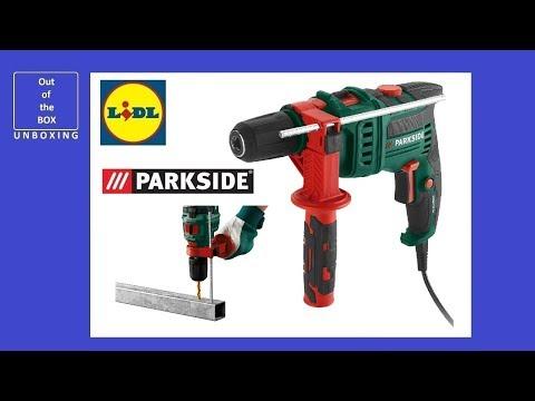 Unboxing Parkside Hammer Drill Psbm 750 B2 Lidl 750watt