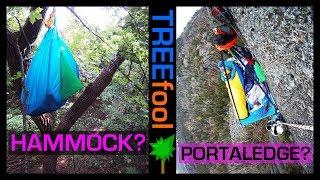 Best Shelter for Tree Camping? ::: Portaledge vs Bat Hammock vs Gathered End