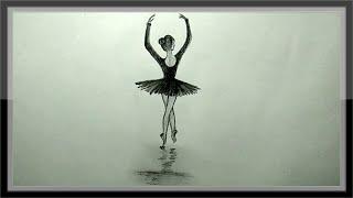 easy pencil drawing dancing cool
