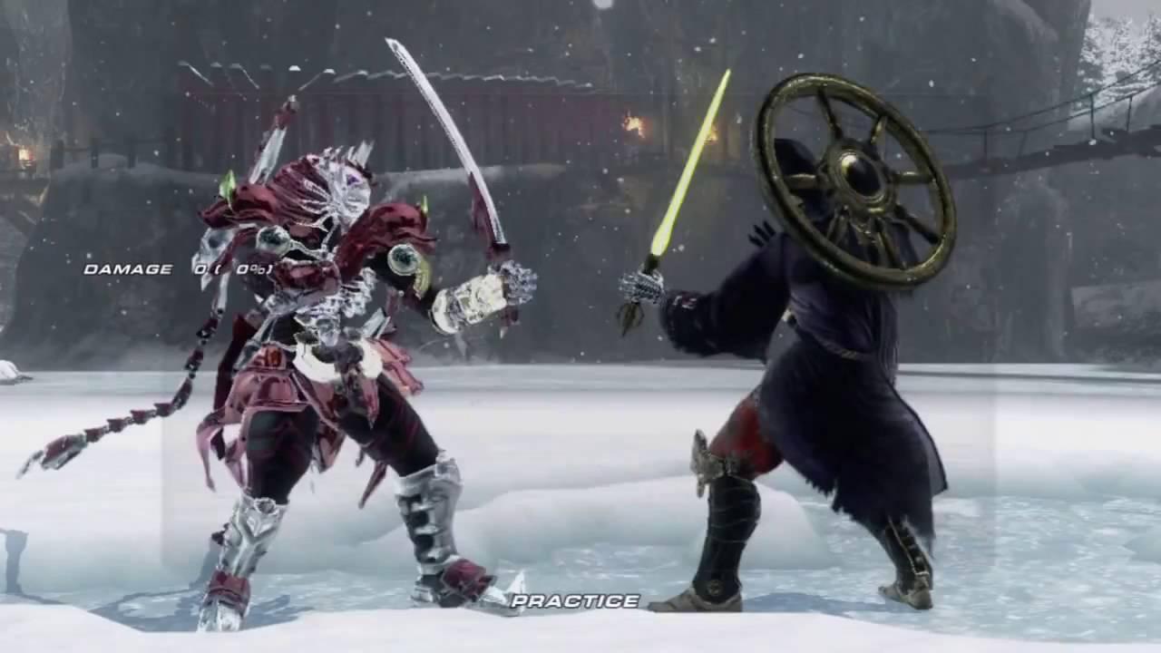 Tekken 6 Xbox 360 Yoshimitsu S Command List Youtube