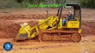 John Deere 450C-A Crawler Loader Dozer