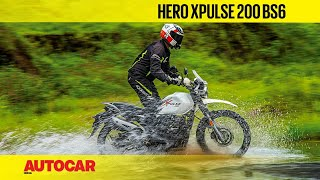 Hero XPulse 200 BS6 review - Off-road hero now better than before | First Ride | Autocar India