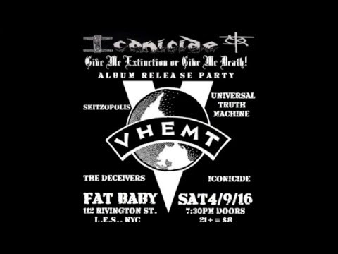 GIVE ME EXTINCTION OR GIVE ME DEATH! Release Party April 9 2016 at FAT BABY