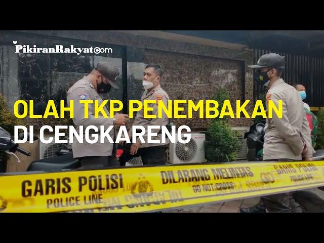 Usai Olah TKP Penembakan di Cengkareng, Polisi Bawa Dua Kardus Berisi Minuman Keras